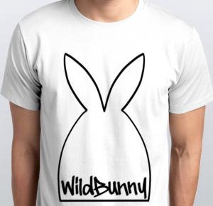 Wild Bunny t-shirt