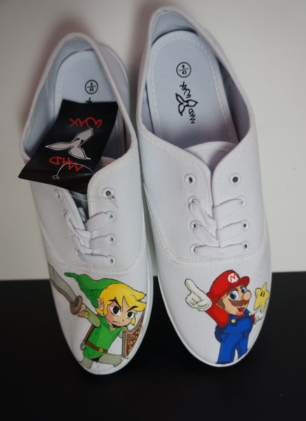 comic book character shoes
