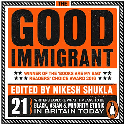 book cover for good immigrant edited by nikesh shukla